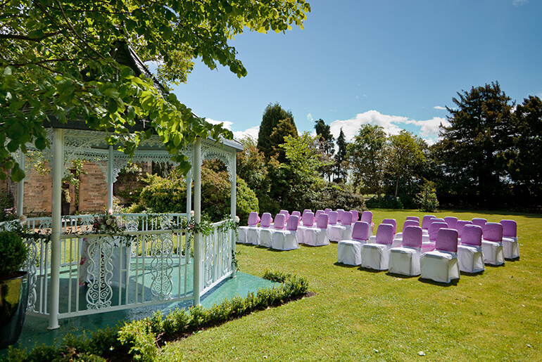 The Stunning Wedding Gazebo at Horton Grange